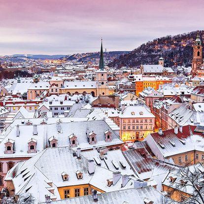Zimní Praha: apartmán pro pár nebo rodinu