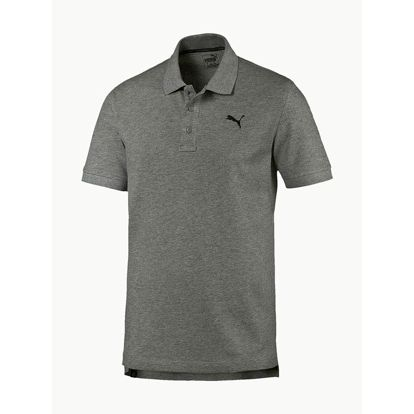 Tričko Puma Ess Pique Polo Medium Gray Heather Šedá