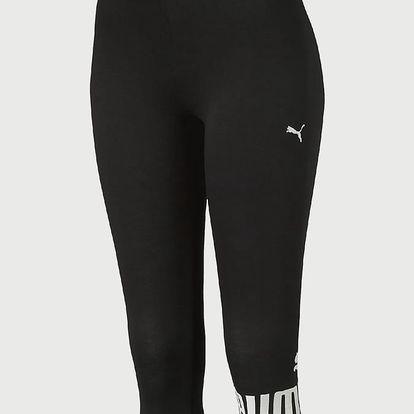 Legíny Puma Ess 3 4 No.1 Leggings W Cotton Black Černá