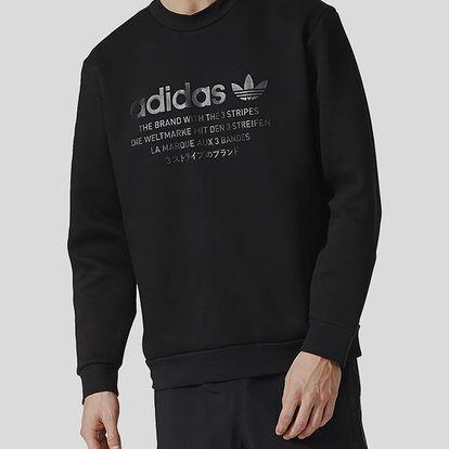 Mikina adidas Originals NMD D-CREW Černá