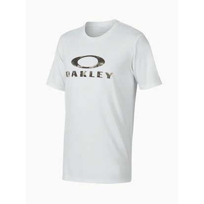 Tričko Oakley 50-Stealth LI White Bílá