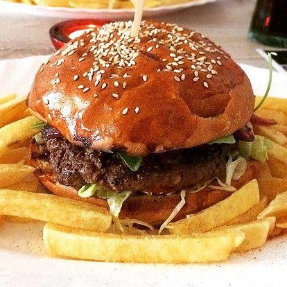 XXL Burger Menu pro milovníky Oldies