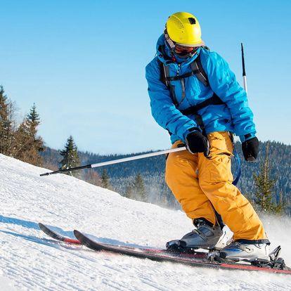 Zima v Krkonoších na 3–8 dní s polopenzí pro 2