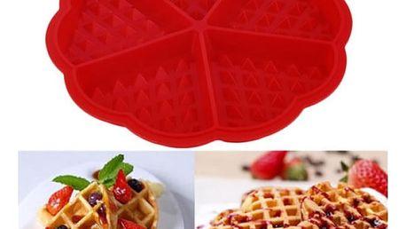 Silikonová forma na vafle