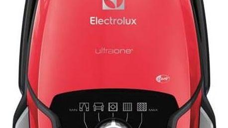 Vysavač podlahový Electrolux UltraOne EUO93RR červený + Doprava zdarma
