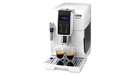 Espresso DeLonghi Dinamica ECAM 350.35W bílé + Doprava zdarma