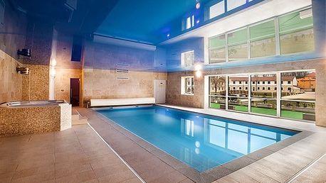 3denní luxusní wellness pobyt s polopenzí pro 2 v Hotelu Lions Nesuchyně