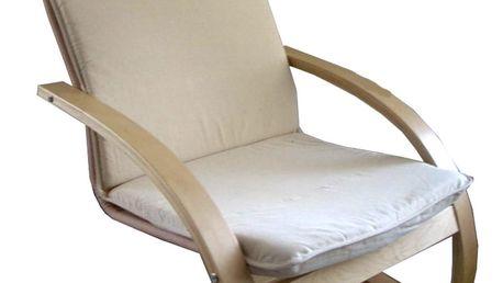 Relaxační křeslo béžové 271