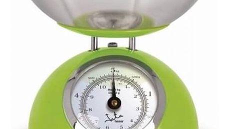 Kuchyňská váha JATA 612VE zelená/nerez + Doprava zdarma