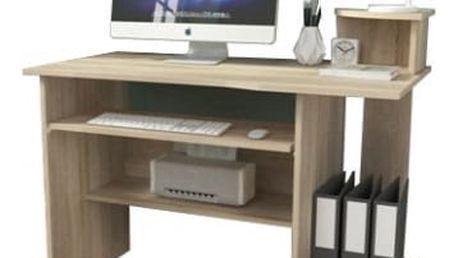 P5 - Kancelářský stůl (dub sonoma)