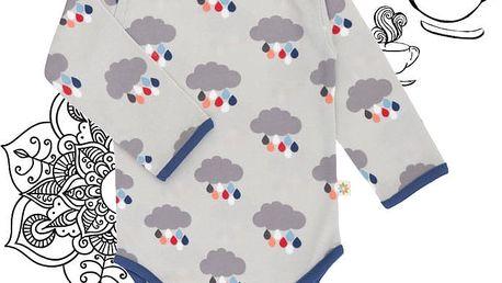 AVANI Clouds body (vel. 80) - modrá