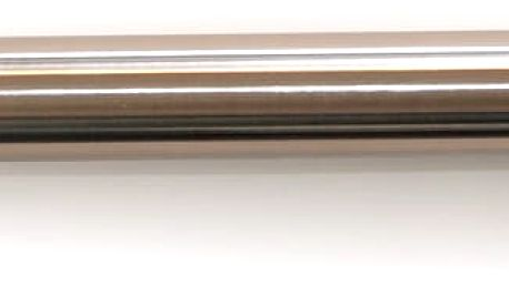 Gardinia Roztažitelná garnýž ocel Válec, 200 - 340 cm