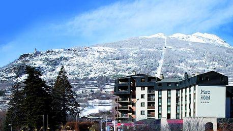 Soleil Vacances Parc Hôtel Résidence****, Rodinný pobyt s All Inclusive v městečku pod vrcholky Alp