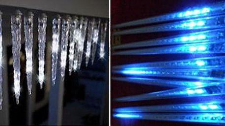 LED rampouchy s efektem sněžení
