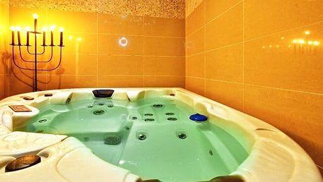3–5denní wellness pobyt pro 2 se snídaněmi v hotelu Krystal*** v Luhačovicích