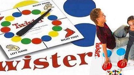 Společenská hra TWISTER! Perfektní zábava plná smíchu!