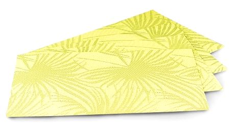 Jahu Prostírání Banana, sada 4 kusů, 30x45 cm
