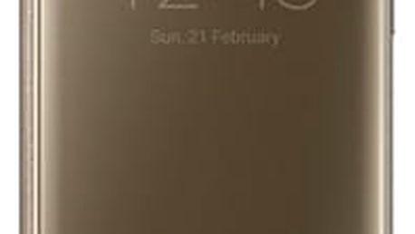Pouzdro na mobil flipové Samsung pro Galaxy S7 Edge (EF-ZG935C) (EF-ZG935CFEGWW) zlaté