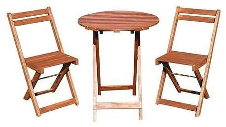 Balkonový nábytek Happy Green Acacia 37BSRDTXFCH Acacia dřevo + Doprava zdarma