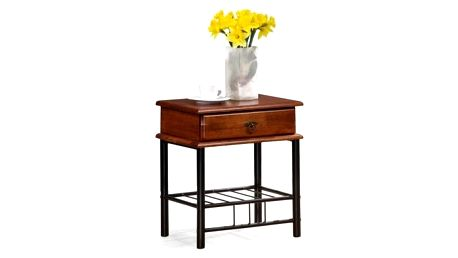 Fiona - Noční stolek (antická třešeň, černá)