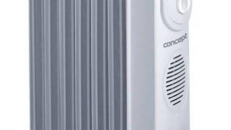 Olejový radiátor Concept RO-3107 šedý + Doprava zdarma