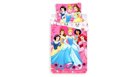 Jerry Fabrics Povlečení Princezny 2017 140x200, 70x90 cm