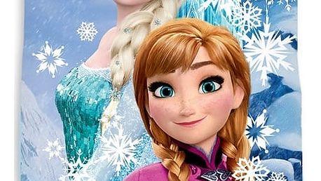 TipTrade Osuška Ledové království Frozen vločky, 70 x 140 cm