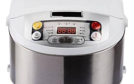 Multifunkční hrnec Philips HD3037/70 Multicooker stříbrný/nerez + Doprava zdarma