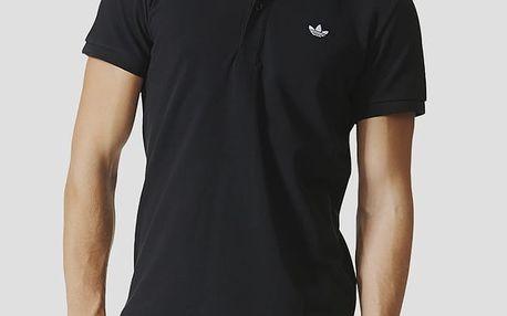 Tričko adidas Originals ADI POLO Černá