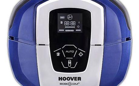 Vysavač robotický Hoover RBC050011 modrý + Doprava zdarma