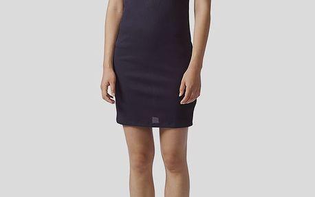 Šaty adidas Originals DRESS Modrá
