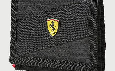 Peněženka Puma Ferrari Fanwear Wallet Black Černá