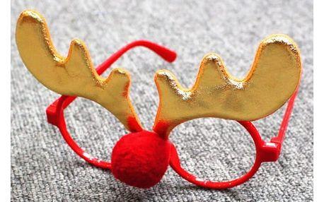 Vtipné vánoční brýle Christmas Ornaments