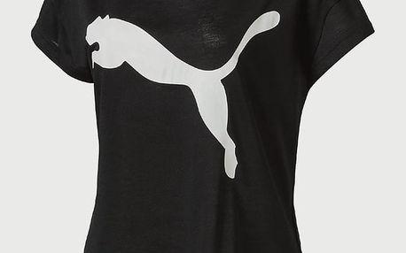 Tričko Puma Urban Sports Trend Tee W Black Černá