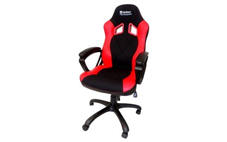 Herní židle Sandberg Warrior (640-80) černá/červená + DOPRAVA ZDARMA