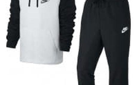 Pánská souprava Nike M NSW TRK SUIT HD WVN | 861772-011 | Bílá, Černá | L