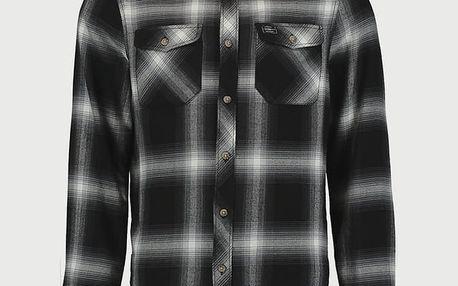 Košile O´Neill LM Violator Flannel Shirt Černá