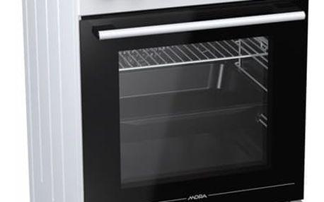 Kombinovaný sporák Mora Premium K 565 AW bílý + DOPRAVA ZDARMA