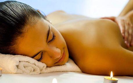 60 minut masáže dle výběru a aroma lázeň