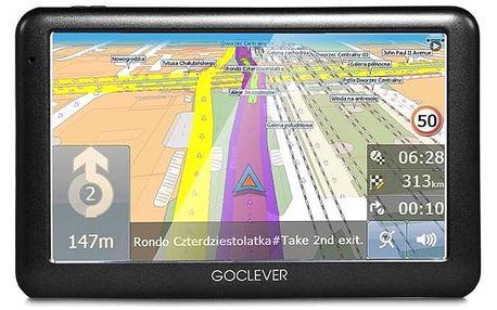Navigační systém GPS GoClever Navio 2 540 MapFactor Lifetime (GCDN2540NR) černá