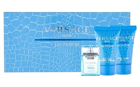 Versace Man Eau Fraiche 5 ml + 25 ml sprchový gel + 25 ml balsam po holení