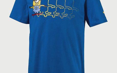 Tričko Puma Minions Tee Lapis Blue Modrá