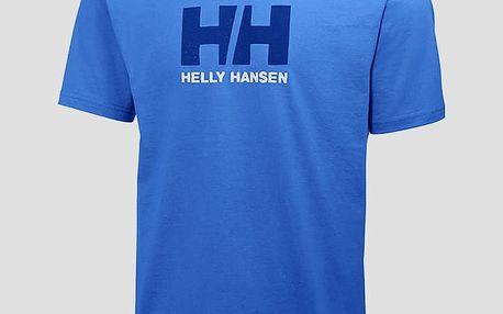 Tričko Helly Hansen LOGO T-SHIRT Modrá