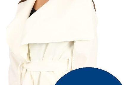 Módní kardigan s páskem modrá