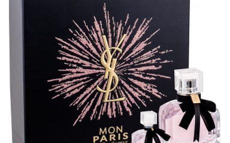 Yves Saint Laurent Mon Paris dárková kazeta pro ženy parfémovaná voda 50 ml + parfémovaná voda 7,5 ml