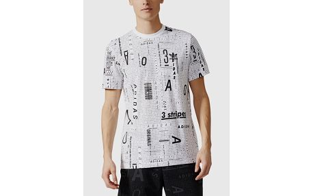 Tričko adidas Originals AOP SUBTLE TEE Bílá