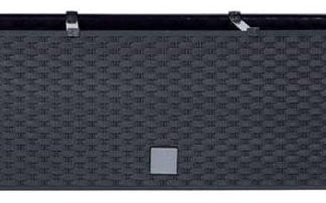 Truhlík samozavlažovací Prosperplast Rato case 51,4 x 19,2 x 18,6 cm antracit (DRTC500-S433)