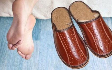 Pohodlné pánské a dámské pantofle