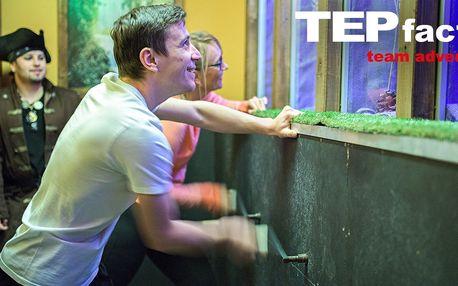 Akční týmová hra TEPfactor s novými úkoly