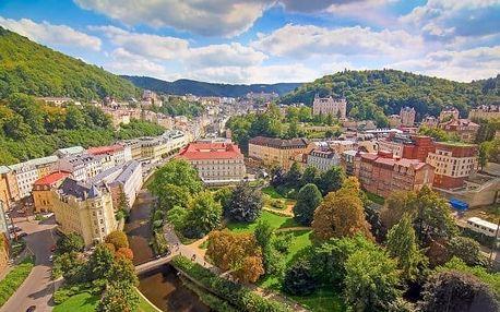 Karlovy Vary se snídaní, bazénem a vířivkou
